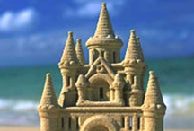 ART -  SaNd ArT / Castles and other art in sand.... / by Rethal Conkle