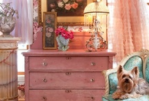 DECORATING with the OLD / I love old furniture - not just any, the kind with a history.  Paint it, or clean it, and find it that special place in your home.
