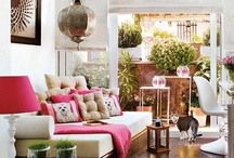 DECORATING - Morrocan Style / So colorful and fun......and I love Morrocan food.