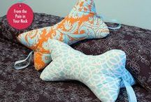 Sewing Pillows / pillow love: all kinds of pillows