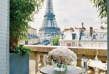 Paris / City of light, romance, beauty and fashion. My heart aches to go back!