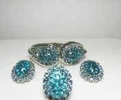 JEWELRY SETS Antique or Vintage Ohly / Vintage/Antique Jewelry Sets, Un-Signed and Signed