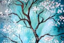 {art lessons} trees