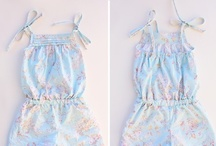 ♥ Sewing kids clothes