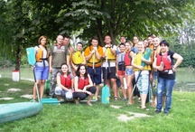 Our Teambuilding - Summer 2012 / Kanoeing on Malý Dunaj river