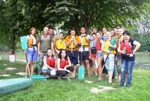 Our Teambuilding - Summer 2012 / Kanoeing on Malý Dunaj river 16.8.2012