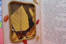 Altered Book Crafts / Altered and upcycled books for current and future library programs.