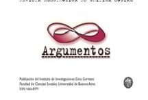 Revistas IIGG / Revistas producidas por los grupos y programas de investigación de las diferentes Áreas del Instituto de Investigación Gino Germani.