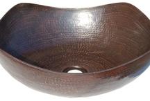 Eden Copper Vessel Sinks / by Direct Sinks