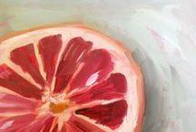 {art lessons} fruits & veggies