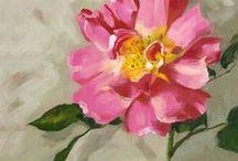 {art lessons} flowers
