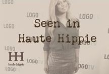 Seen in Haute Hippie / Editorial highlights and celebrities wearing Haute Hippie  / by Haute Hippie