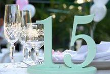 Wedding Table decor / by Casey Olson