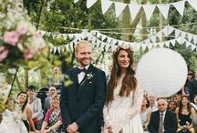 {weddings/events} ceremony decor / Backdrops and other ways to accent your wedding ceremony