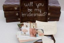 {wedding/events} bridesmaid ideas / Gifts, products, personalization and ways to show love to your bridesmaids