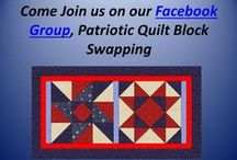 Patriotic Quilt Blocks / Are you interested in Patriotic Quilts?  Here are some ideas for blocks and quilts.