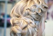 Prom Hair / Fun hair style to wear on your special night!