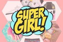 Tout pour les filles • Girls gifts / Du rose, des paillettes, des licornes et des sucreries !