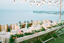 Wedding Head Table / Wedding table decor for you and your hunny... only