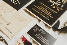 Wedding Invitations / Invitation suites for your wedding; including save the dates and thank you cards