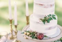 Wedding Cakes & Design / Desserts for weddings!