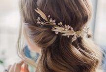 Wedding hair and bridal up dos / Wedding hair, bridal updo