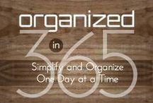 I ♥ Organizing