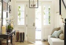 Home - Entrée / la porte d'entrée à repeindre - les couleurs murs - le rangement - les étagères - la déco - l'atmosphère ...... Idées