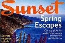Sunset Magazine-Huge Fans