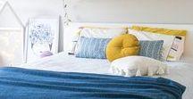 Home - Chambres de l'étage / Challenging ! From a young girl to an adult bedroom --  -- réaménagement d'une chambre de jeune fille en chambre d'adulte -- Idées deco / rangement