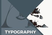 Typography & Lettering / All things typography. Serif, sans serif, monospace, script, cursive, hand-lettering, blackletter, kerning, tracking, display font, old style, roman, fonts