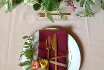 Weddings {Place Settings} / by Ashley Drummy