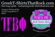 GreekT-Shirts That Rock / You are just a few clicks away from picking the perfect t-shirt for your chapter and making it your own. Just select your favorites and email them to the email address on the proof! #greekshirts #greektshirts #gttr #greektshirtsthatrock #sororityshirts #fraternityshirts #sororityquotes #sororityshirtideas / by Greek T-Shirts That Rock