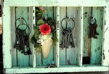 DIY - Clefs / Porte clefs, placards pour clefs, supports ... Keys Holders ....