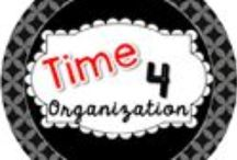 Time 4 Organization / Organization for the classroom.  Tips, tricks and great ideas to organize