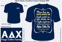 ALPHA DELTA CHI T-Shirts that Rock / by Greek T-Shirts That Rock