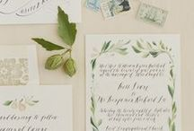 Invitations & Pretty Paper / From wedding invitations to escort cards, and all the pretty paper in between!