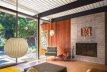 Vision Board: Mid Century Modern house!