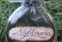 Cute or Creepy Crafts / A place to keep track of all my gothic, halloween and just plain creepy craft projects! / by Allison Rodriguez
