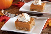 Dessert - Pumpkin / Pumpkin