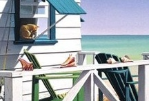 At the beach house / by Jan Gold