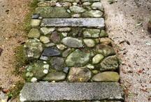 Landscaping - garden paths