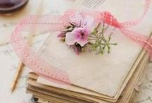 **Eηḉнαηtḯᾔℊ ❀⊱Tell Me Everything⊰❀ / Decorating with Sheet Music, Letters, Books Mailboxes, Wax Seals & Cards etc.