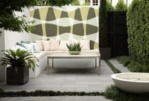 Garden design - clever courtyards / How to shape spaces, incorporate seating, and use colour in courtyards filled with luscious plants