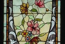 Aяcнїтёcтцґє ❀⊱Window Artistry, Stained * Frosted * Etched * Pressed⊰❀