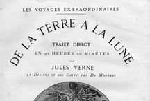 EL MUNDO DE JULES VERNE (1828-1905) / Serie de ilustraciones originales contenidas en títulos de Jules Verne editados a finales del s. XIX, depositados en los fondos de la Biblioteca Pública Municipal de La Orotava.