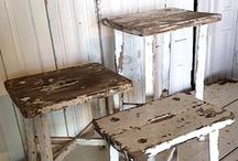 Distressed and Weathered