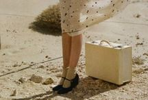 Girl with Suitcase / by Jan Gold