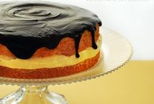 Cake or Death! / Cake, petit fours, ice cream cake / by Allison Rodriguez