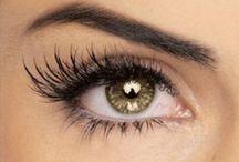 Eye make up / I have always been enchanted with beautiful eye make up!